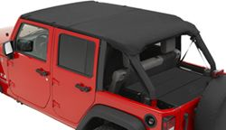Bestop Full Length Header Bikini (Safari Version) With Windshield Channel  For Jeep
