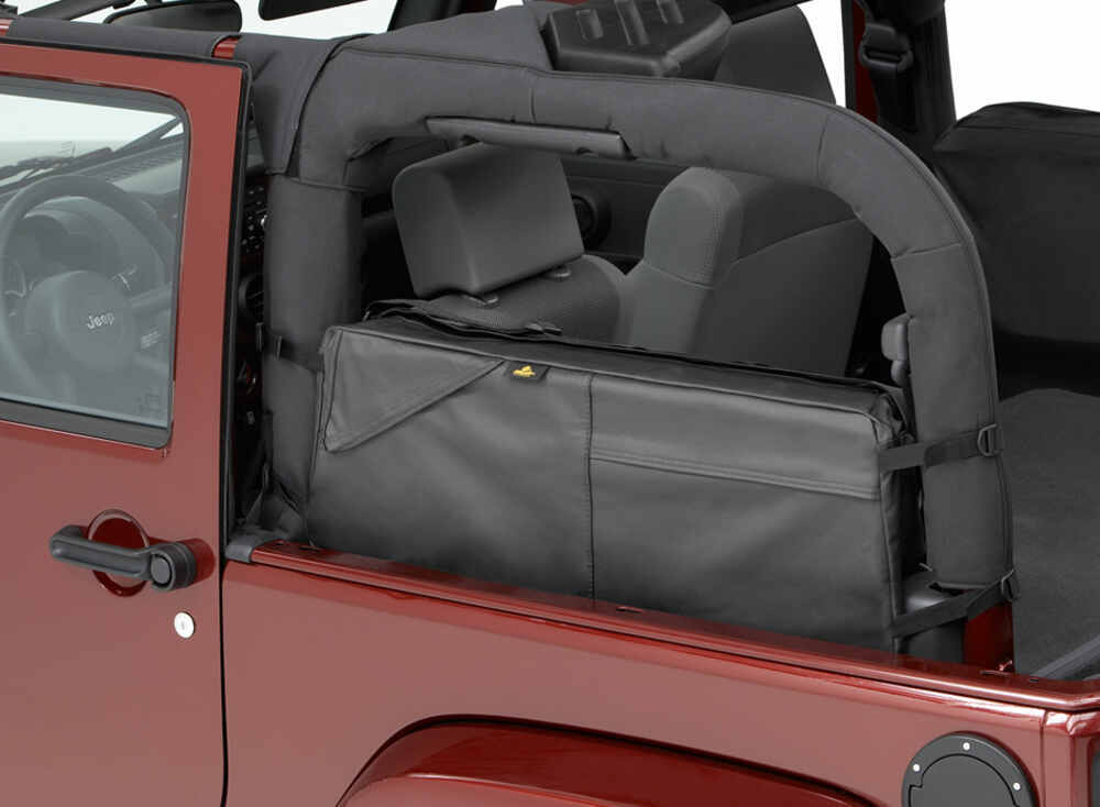 Bestop Roughrider Rectangle Saddle Bag For Jeep Roll Bars