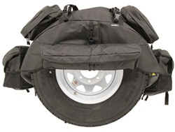 "Bestop RoughRider Spare Tire Organizer for Jeep - 30"" to 33"" Tires - Black Diamond"