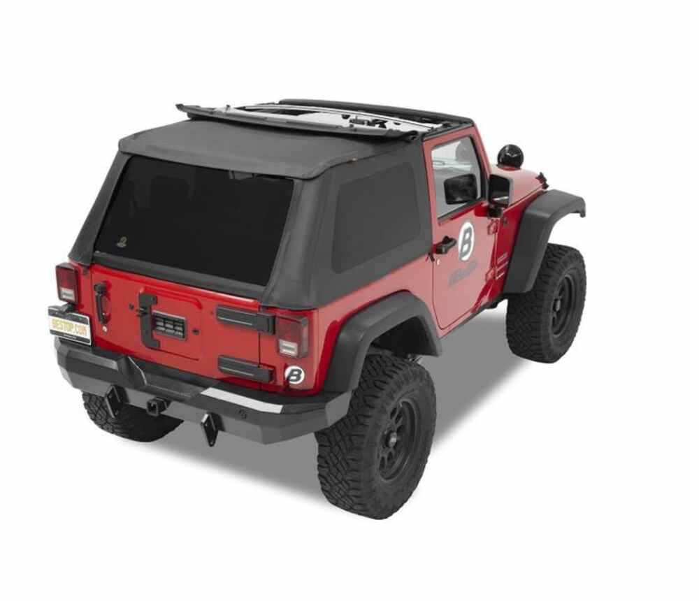 Best Top For Jeep: Bestop Trektop NX Complete Soft Top For Jeep