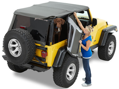 Bestop Trektop Nx Soft Top For Jeep Sunroof And Tinted