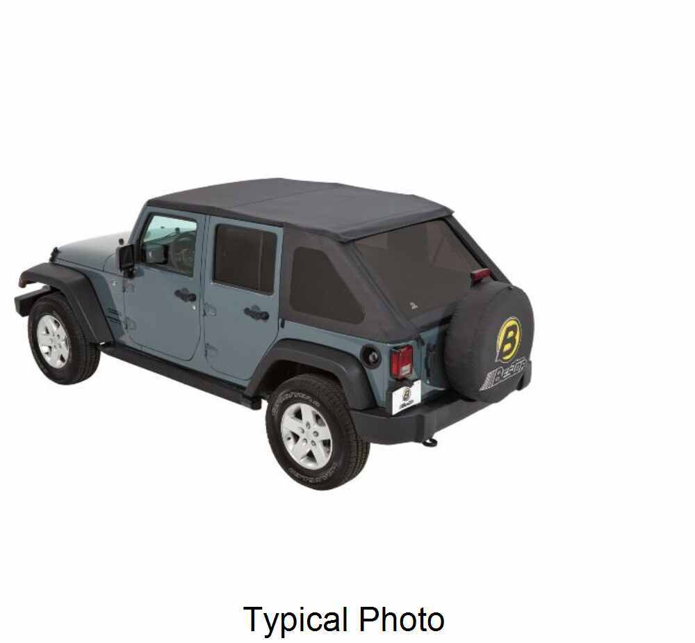 Best Top For Jeep: Bestop Trektop NX Soft Top For Jeep