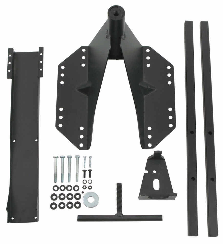 Bestop HighRock 4x4 Oversized Tire Carrier For 2007+ Jeep