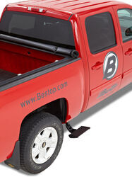 Bestop TrekStep Side Mounted Truck Step - Aluminum - Passenger Side