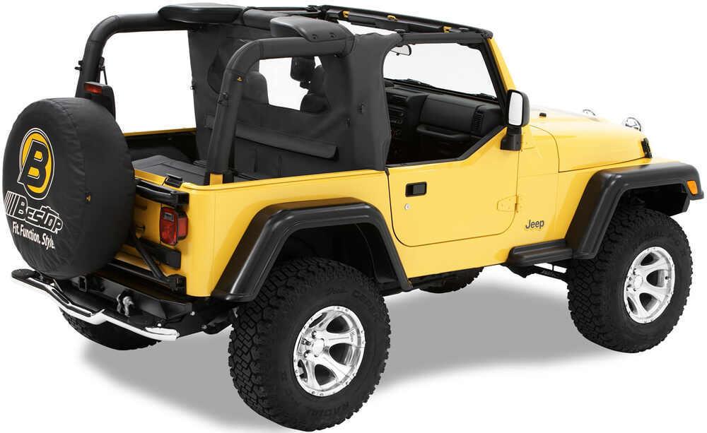 Bestop Wraparound Windjammer For Jeep Black Diamond