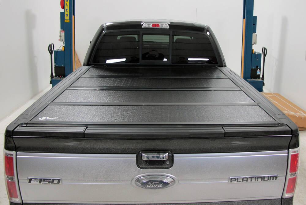 Ford Ranger Bed Cover >> 2011 Ford F-150 BAKFlip FiberMax Hard Tonneau Cover - Folding - Aluminum and Fiberglass