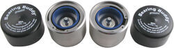 Bearing Buddy Bearing Protectors - Model 1980A-SS w/ Auto Check - Stainless Steel (Pair) - BB1980A-SS
