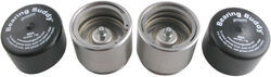 Bearing Buddy Bearing Protectors - Model 1980T-SS - Threaded - Stainless Steel (Pair)