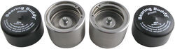 Bearing Buddy Bearing Protectors - Model 2080SS - Stainless Steel (Pair)