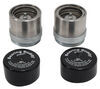 Bearing Buddy Bearing Protectors - Model 2441T-SS - Threaded - Stainless Steel (Pair)