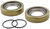 bearing buddy trailer bearings races seals caps  spindle grease seal set for l44643 inner and 1.980