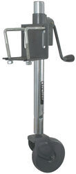 "Bulldog Rack-and-Gear Jack with Steel Wheel - Bolt On - 16"" Lift - 750 lbs"