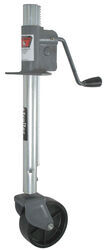 "Bulldog Rack-and-Gear Jack with Poly Wheel - A-Frame - 16"" Lift - 750 lbs"