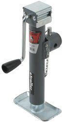 "Bulldog Round, Pipe-Mount Swivel Jack - Sidewind - 10"" Lift - 5,000 lbs"