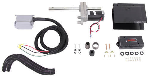 bulldog powered drive kit for single speed jacks w 12 000 lb capacity bulldog accessories and. Black Bedroom Furniture Sets. Home Design Ideas