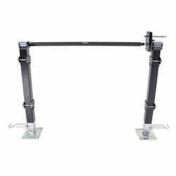 "Bulldog Tandem Landing Gear Set - Drop Leg - 18"" Lift - 8,000 lbs"