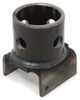 "Bulldog Replacement Pipe Mount for Swivel Jack - Weld On - 5/8"" Pull Pin"
