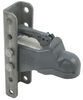 "Bulldog Cast Head Coupler w/ Wedge Latch - 2"" Ball - 5-Position Adjustable Channel - 8,000 lbs"