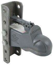 "Bulldog Cast Head Coupler w/ Wedge Latch - 2-5/16"" Ball - 5-Position Channel - 14,000 lbs"
