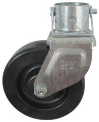 6 Inch Boat Trailer Jack Swivel Caster Replacement Wheel Tongue With Hitch Pin