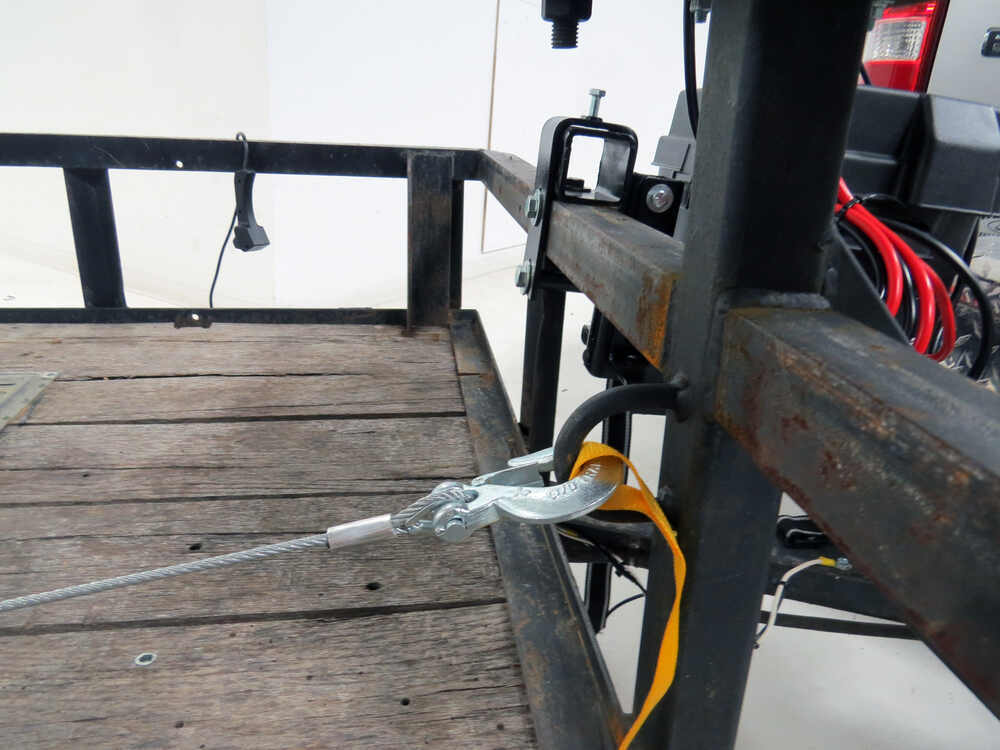 Car Trailer Winch >> Bulldog Winch Trailer Winch - Wire Rope - Roller Fairlead - 4,400 lbs Bulldog Winch Electric ...