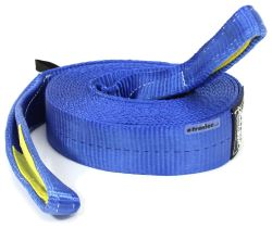 "Bulldog Winch Heavy-Duty Recovery Strap w/Reinforced Loop Ends - 3"" x 30' - 30,000 lbs"