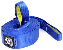 "Bulldog Winch Heavy-Duty Recovery Strap w/Reinforced Loop Ends - 4"" x 30' - 40,000 lbs"