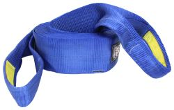 "Bulldog Winch Heavy-Duty Recovery Strap w/Reinforced Loop Ends - 6"" x 30' - 60,000 lbs"