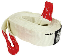 "Bulldog Winch High-Strength Snatch Strap - Reinforced End Loops - 3"" x 30' - 19,800 lbs"