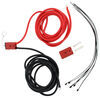 Bulldog Winch Rear Wiring Kit - Quick Connect to Terminal End - 2 Gauge - 24' Long