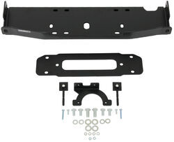 Bulldog Winch Winch Mount - 10th Anniversary Edition OE Bumper - Jeep JK