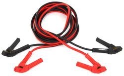 Bulldog Winch Booster Cable Set - Clamp to Clamp - 2 Gauge - 20' Long