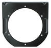 "Trailer Light Mounting Bracket for 4"" Trailer Lights, Steel - Black Powder Coat"