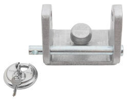 "Blaylock EZ Lock Trailer Coupler Lock for 1-7/8"", 2"", and 2-5/16"" Couplers - Aluminum"