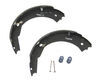 "12"" X 2"" Electric Trailer Brake Shoe / Lining (One Wheel)"
