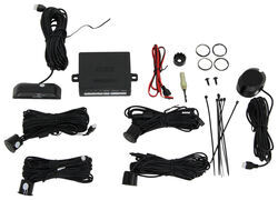 Accele Electronics 4-Sensor Vehicle Backup Sensor System with Extended Cable Length