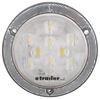 "LED Trailer Backup Light - 10 Diode - Reflex Flange - Sealed - 4"" Round - White w/ Clear Lens"