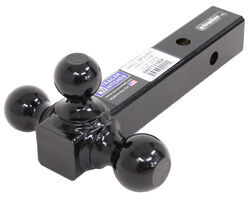 "B&W Triple Tow Tri-Ball Mount for 2"" Hitches - Black Powder Coated"