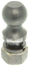"3"" Hitch Ball - 2"" Diameter x 3-1/4"" Long Shank - Raw - 30,000 lbs"