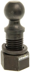 "2-5/16"" Hitch Ball - 2"" Diameter x 3-1/2"" Long Shank - Raw - 30,000 lbs"