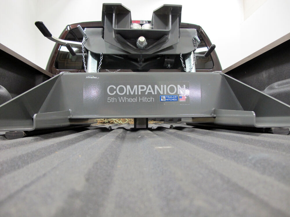 Fifth Wheel Trailer Hitch : B w companion gooseneck to th wheel trailer hitch adapter