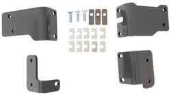 B&W Semi-Custom Brackets for 5th Wheel Trailer Hitches - Nissan Titan