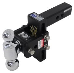 "B&W Tow & Stow 2-Ball Mount - 2"" Hitch - 5"" Drop, 5.5"" Rise - 10K - Browning"