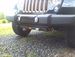 Blue Ox 2013 Jeep Wrangler Unlimited Base Plates