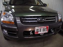 2007 Kia Sportage Base Plate for Tow Bar  etrailercom