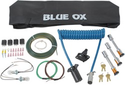 Blue Ox Towing Accessories Kit for Alpha and Aventa LX Tow Bars - 7-Wire to 6-Wire - 10,000 lbs