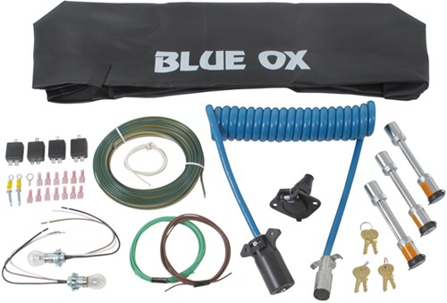 BX88231_500 blue ox towing accessories kit installation 2005 mini cooper blue ox 7 pin to 6 pin wiring diagram at reclaimingppi.co