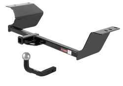 "Curt Trailer Hitch Receiver w/ Euro Drawbar - 1-7/8"" Ball - Custom Fit - Class I - 1-1/4"""