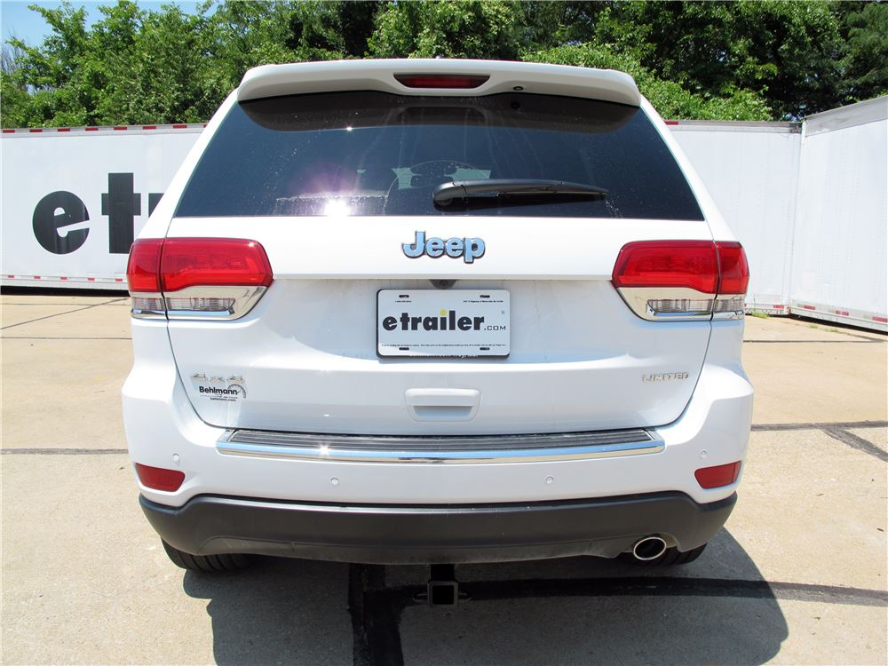 2016 Jeep Grand Cherokee Trailer Hitch Curt