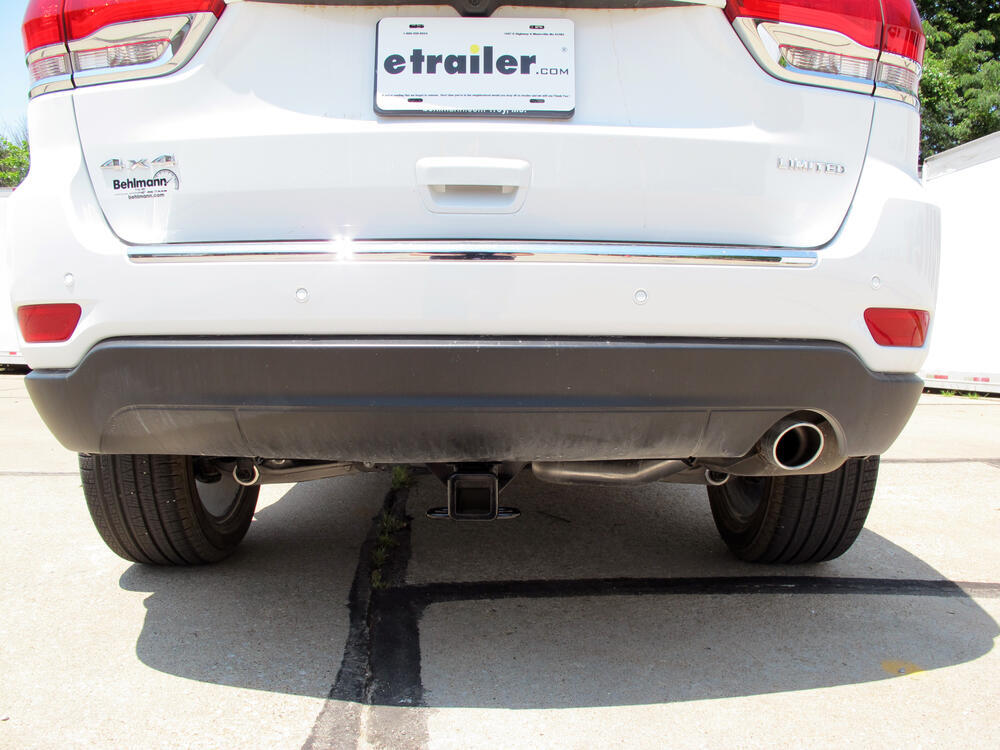 2017 Jeep Grand Cherokee Trailer Hitch Curt